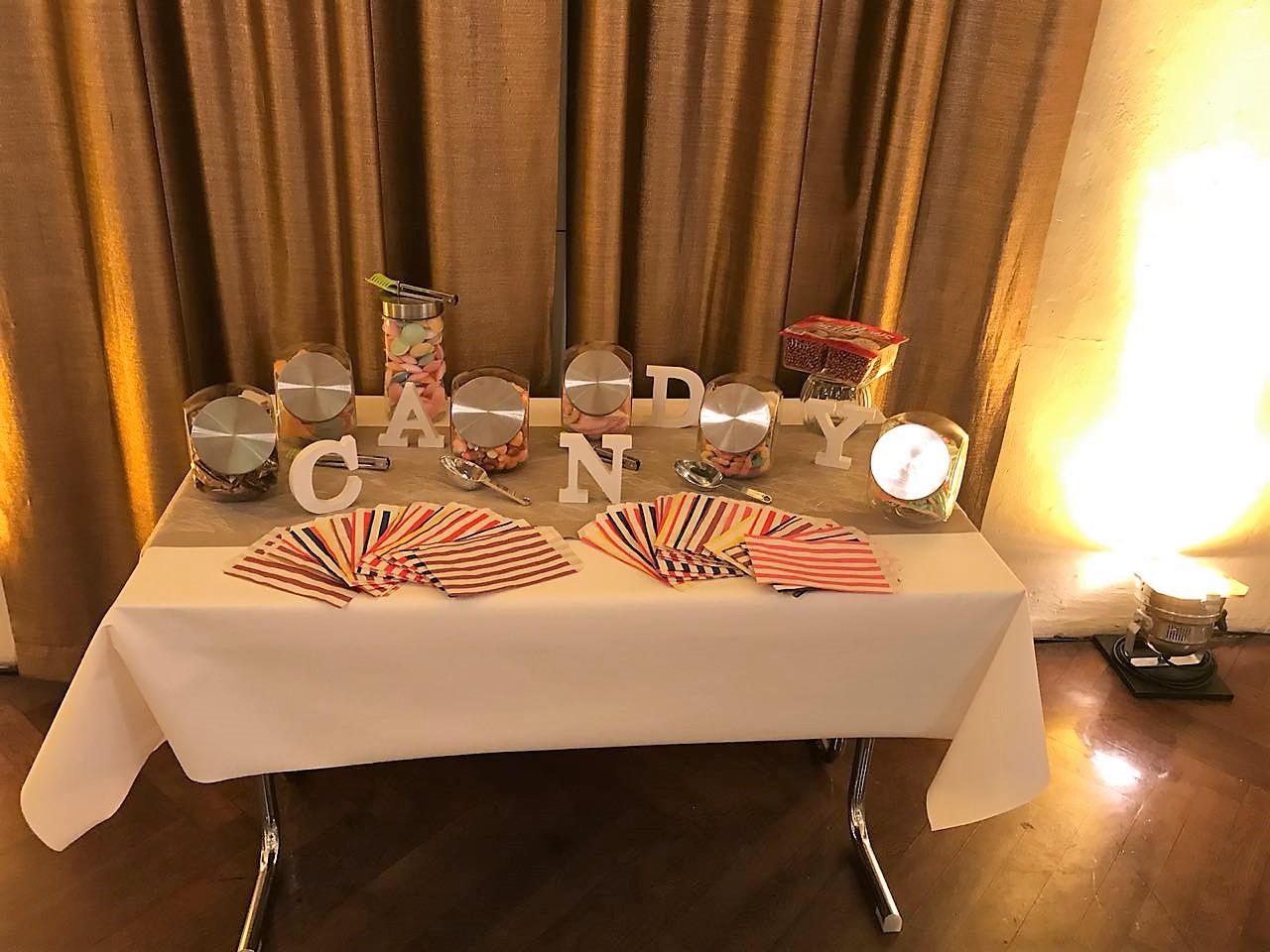 Süß für die Gäste